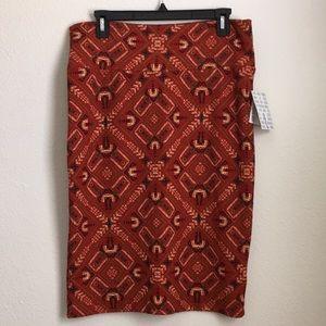 NWT LuLaRoe Cassie Pencil Skirt Size Large